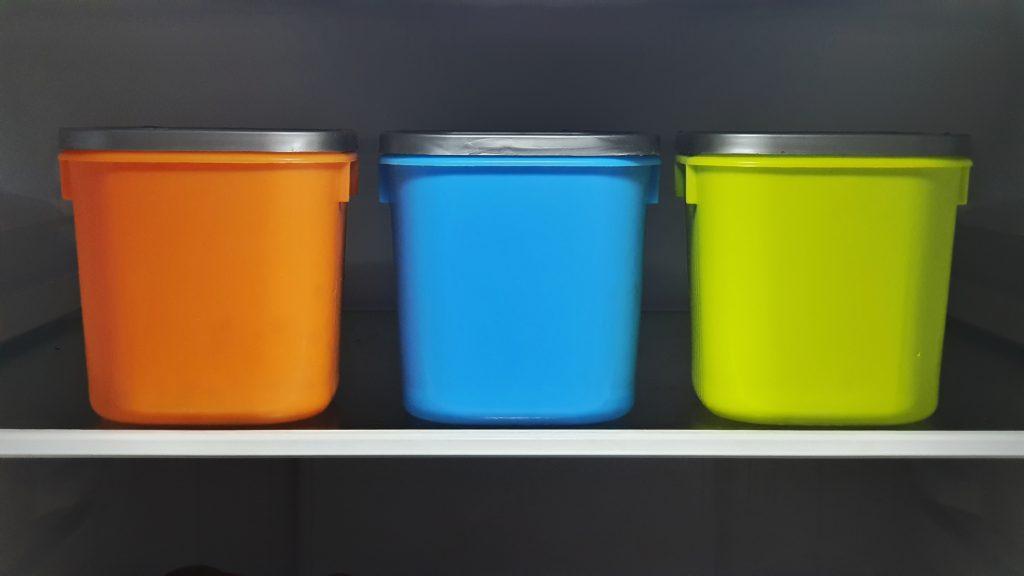 envases de varios tipos