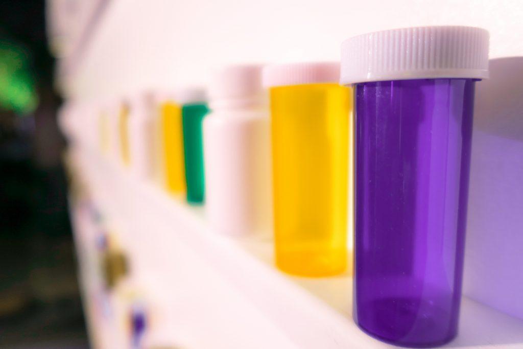 Envases para medicinas