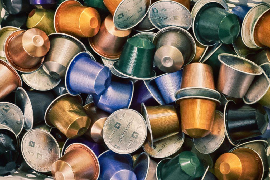 Café en cápsulas  de aluminio